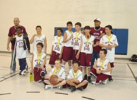 Blessed Sacrament Basketball Tournament in Hamilton