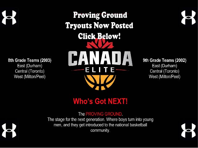 Under Armour Proving Ground Tryouts Now Posted!