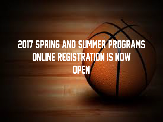 Spring and Summer Programs Register Now!
